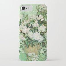 Vase with Pink Roses by Vincent van Gogh iPhone 7 Slim Case