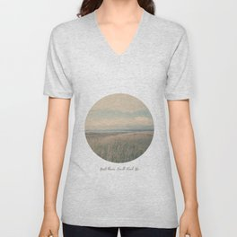 Circle Week Circle II {And There You'll Find Me} Unisex V-Neck