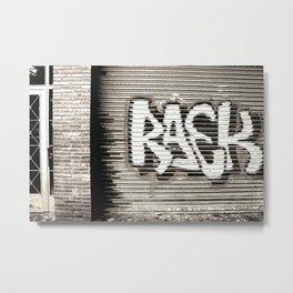 Graffiti Door Metal Print