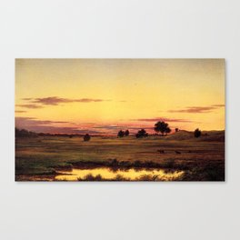 Scituate Valley before the Reservoir by Martin Charles Heade Canvas Print