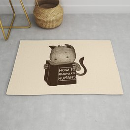 Cat Book How To Manipulate Humans Rug