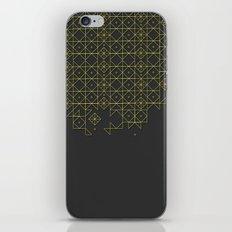 Gold&grey iPhone & iPod Skin