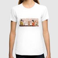 gustav klimt T-shirts featuring Kokeshis Klimt by Pendientera