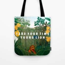 Weekend of the Lion Tote Bag