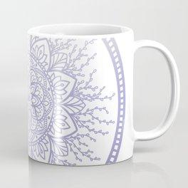 Lavender Nature Mandala Kaffeebecher