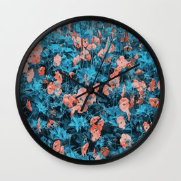 North bay flowers Wall Clock