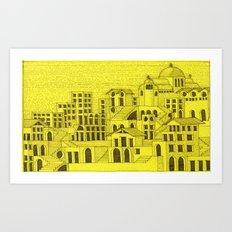 Architectural fantasy_4 Art Print