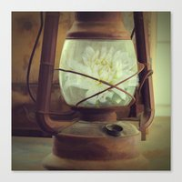 lantern Canvas Prints featuring Lantern by jenn branigan