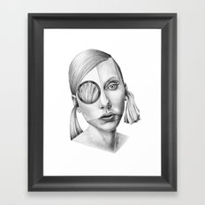 Grazia! Framed Art Print