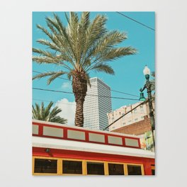 Downtown New Orleans Canvas Print
