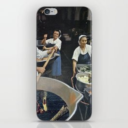 Recipe to Another Dimension - Vintage Collage iPhone Skin