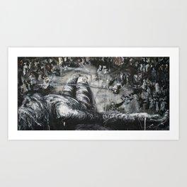 Crucifixion III Art Print