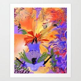 hi dive Art Print