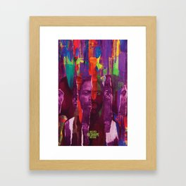 ENTEBBE by Connor Purnell Framed Art Print