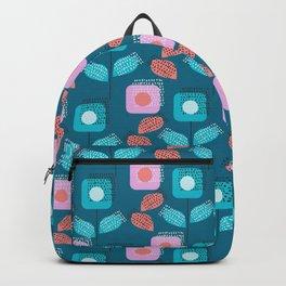 Modern floral garden Backpack