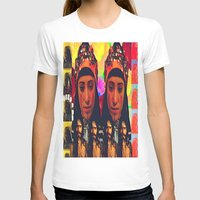 postcard T-shirts featuring POSTCARD  by Mohini Hewa