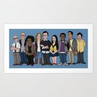 community Art Prints featuring Community by jasesa