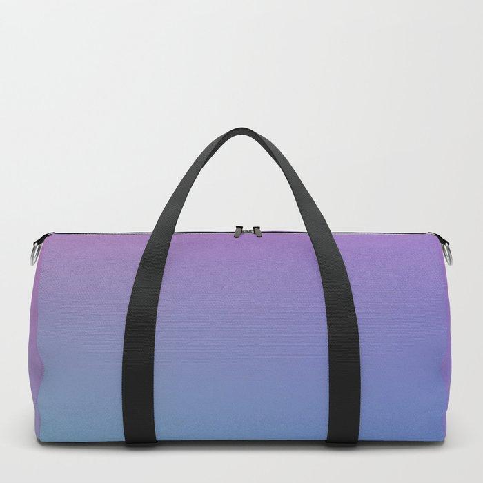 SUPERSTITION FUTURE - Minimal Plain Soft Mood Color Blend Prints Duffle Bag