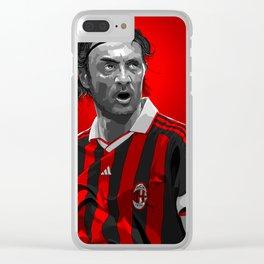 Palol Maldini - AC Milan Clear iPhone Case