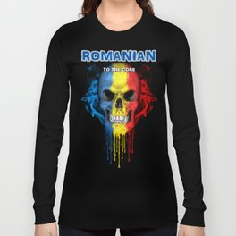 To The Core Collection: Romania Long Sleeve T-shirt