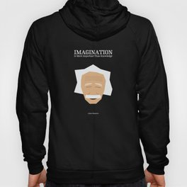 Lab No. 4 - Albert Einstein Inspirational Quotes Typography Poster Hoody