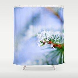 Bitter Cold, Nice Fir Tree Shower Curtain