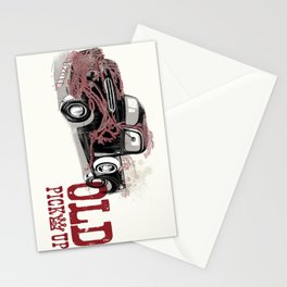 Old pickup Stationery Cards