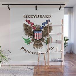 Greybeard Eagle Wall Mural