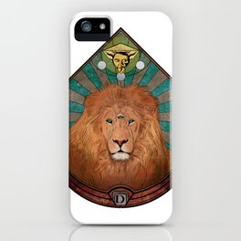 The All-seeing One - #5 Animal Hierarchy iPhone Case