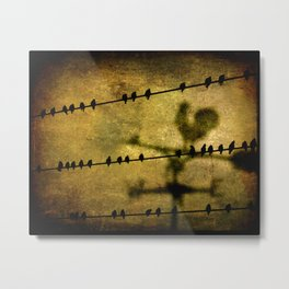 West and East Metal Print