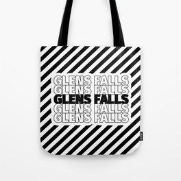 Glens Falls USA CITY Funny Gifts Tote Bag