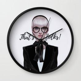 That's__folks! Wall Clock