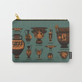 Ancient Greek Pottery Carry-All Pouch