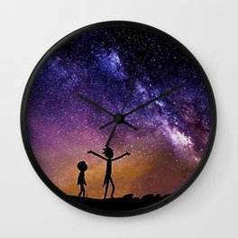 Rick Morty Show Wall Clock