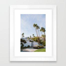 Palm Springs Mid Century Modern 1 Framed Art Print
