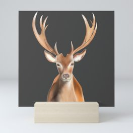 The Stag Mini Art Print