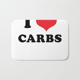 I (heart) CARBS Bath Mat