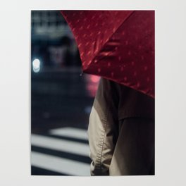 Umbrella - Enchanted by Saul Leiter.and then... Poster