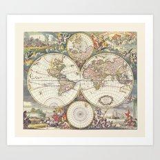 Wit's World Art Print