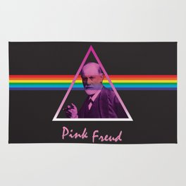 Pink Freud Rug