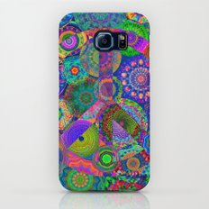 Hippies' Garden Galaxy S6 Slim Case