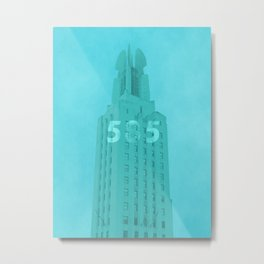 Time Square Building Rochester NY Metal Print