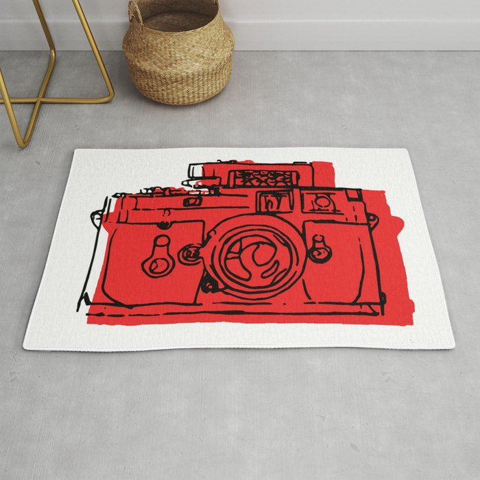 Click Click Red Rug