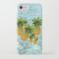 pineapples iPhone & iPod Cases featuring Pineapples by Erika Kaisersot