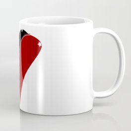 Zipper Heart Coffee Mug