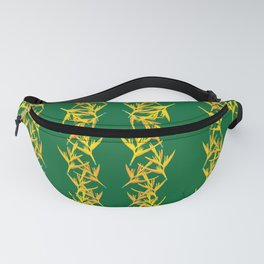 Yellow and Green Fanny Pack