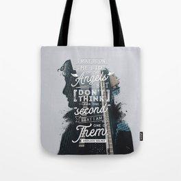 Sherlock - Angels Tote Bag