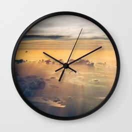 up there Wall Clock