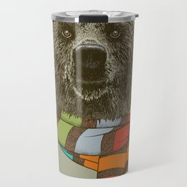 Winter Bear Travel Mug