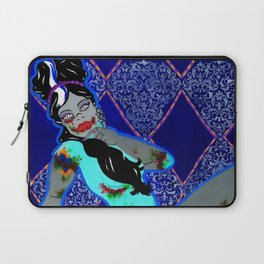 The Bride's Boudoir Shoot Laptop Sleeve